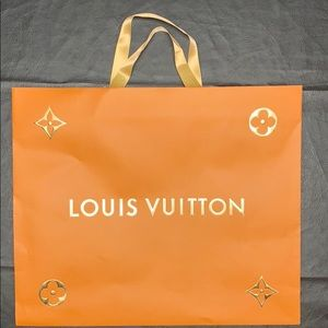 LV holiday shopping bag
